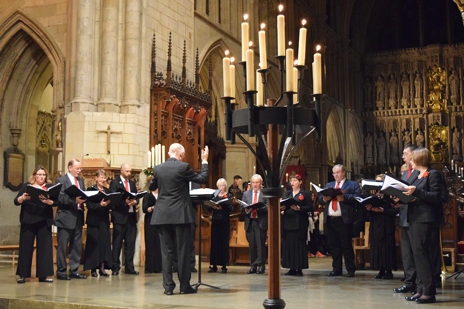 Feed the Minds Carol Concert - Quorum Choir, Feed the Minds Candlelit Carols at Southwark Cathedral