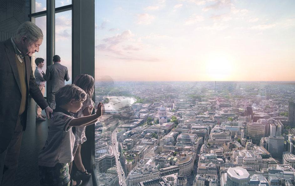 22 Bishopsgate - Viewing Gallery, CGI