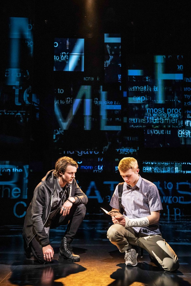 Dear Evan Hansen - West End cast of Dear Evan Hansen, photo: Matthew Murphy
