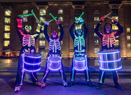 Halloween at King's Cross