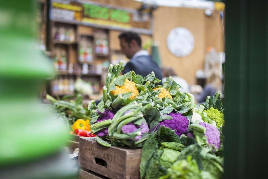 Borough Market - Teds Veg, photo ©Borough Market