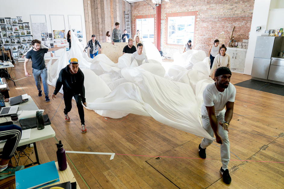 The Lion, the Witch and the Wardrobe - In rehearsals, photo: Manuel Harlan