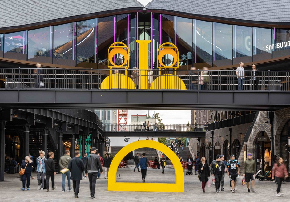 Coal Drops Yard - Double Take, It's Nice That, from 4th October to 15th November 2019. Image by John Sturrock
