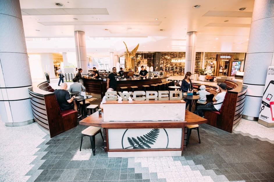 Sacred Cafe Westfield London