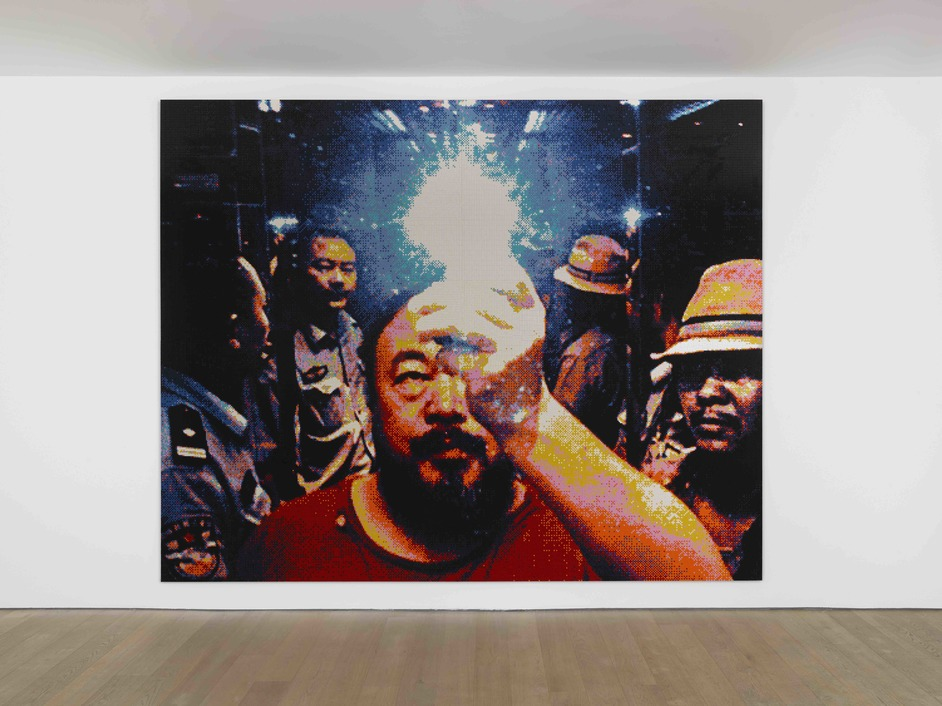 Ai Weiwei - Roots - Ai Weiwei Illumination, 2019, Lego. Courtesy the artist, Lisson Gallery and neugerriemschneider, Berlin © Ai Weiwei, Courtesy Lisson Gallery