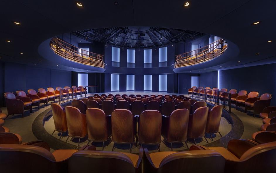 Boulevard Theatre - Boulevard Theatre auditorium, photo: Tom Lee