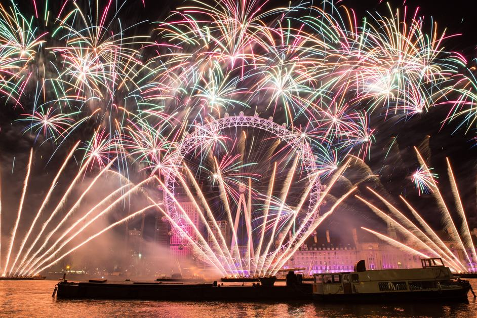 London New Year's Eve Fireworks - photo: Kois Miah / GLA