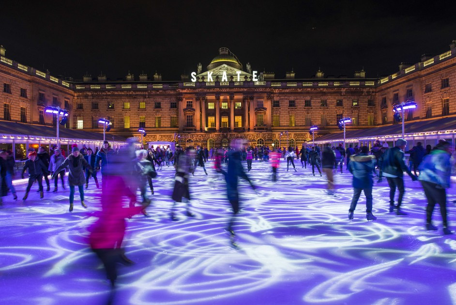 Skate At Somerset House - Skate at Somerset House with Fortnum & Mason, photo © James Bryant