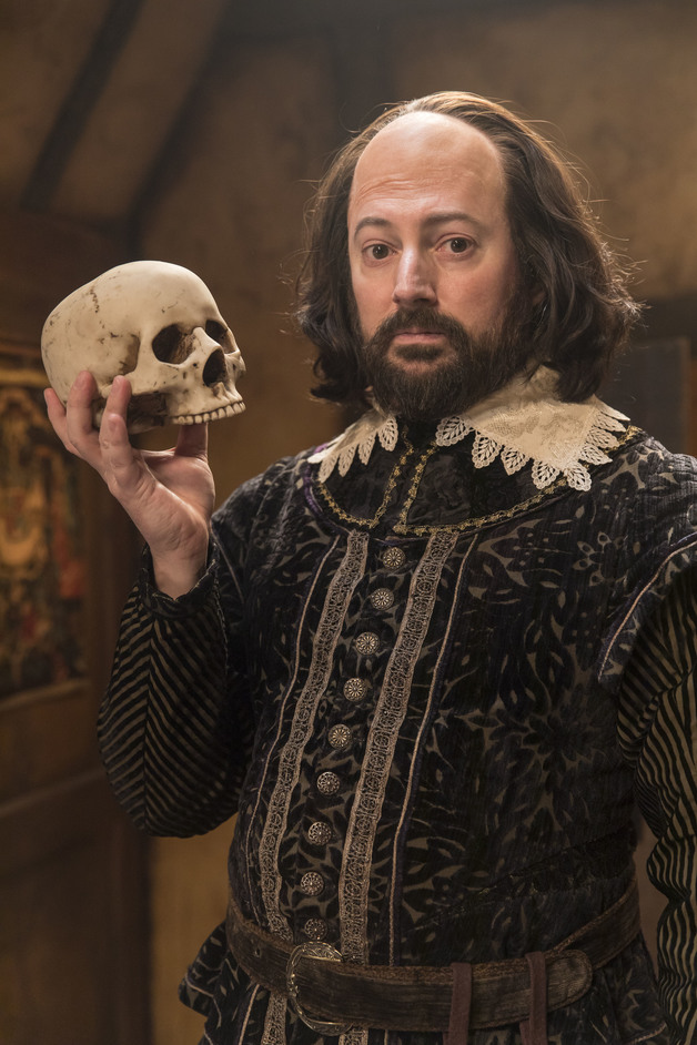 Upstart Crow - David Mitchell stars in Upstart Crow