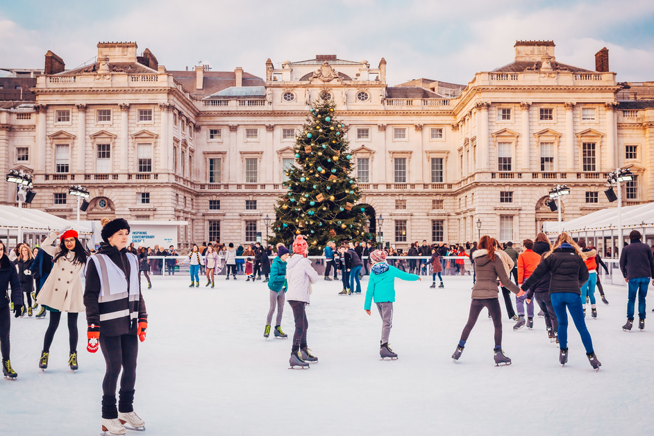 Skate At Somerset House - Skate at Somerset House with Fortnum & Mason, photo © Luke Dyson