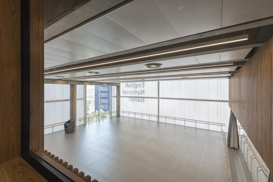 English National Ballet - rehearsal studio, photo: Michael-Molloy