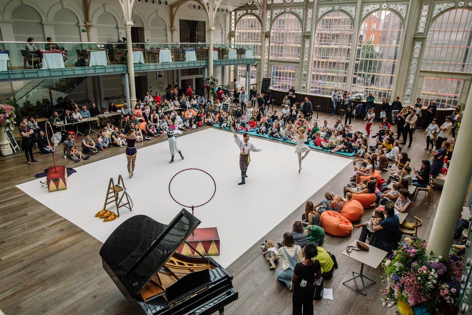 Royal Opera House - Dots Day (c) ROH, 2019. Photo: Laura Aziz
