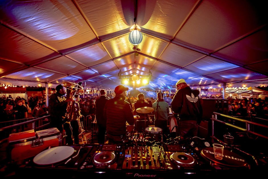 Alexandra Palace Fireworks Festival - photo: Lloyd Winters