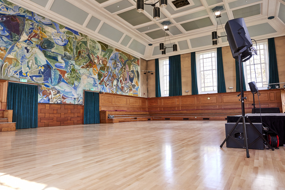 Cecil Sharp House - Kennedy Hall at Cecil Sharp House, Ivon Hitchens mural. Photo: Andi Sapey