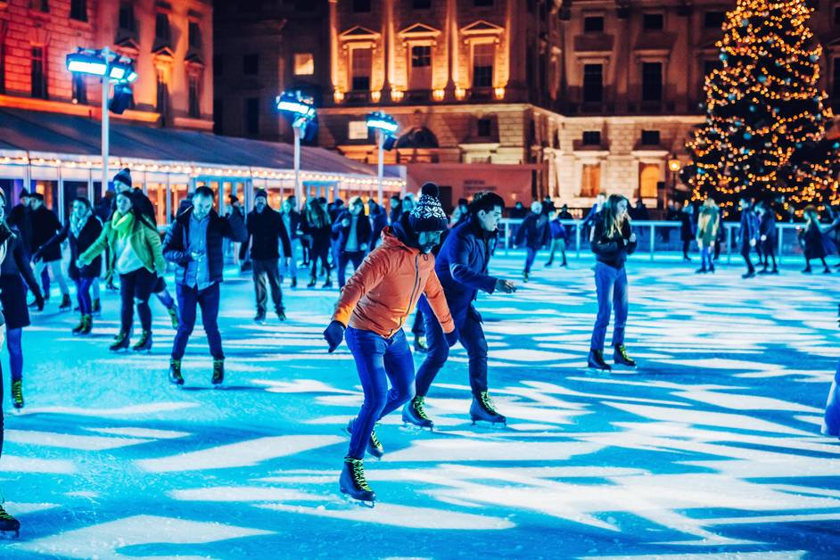 Skate At Somerset House - Skate Lates - Skate at Somerset House with Fortnum & Mason © Luke Dyson