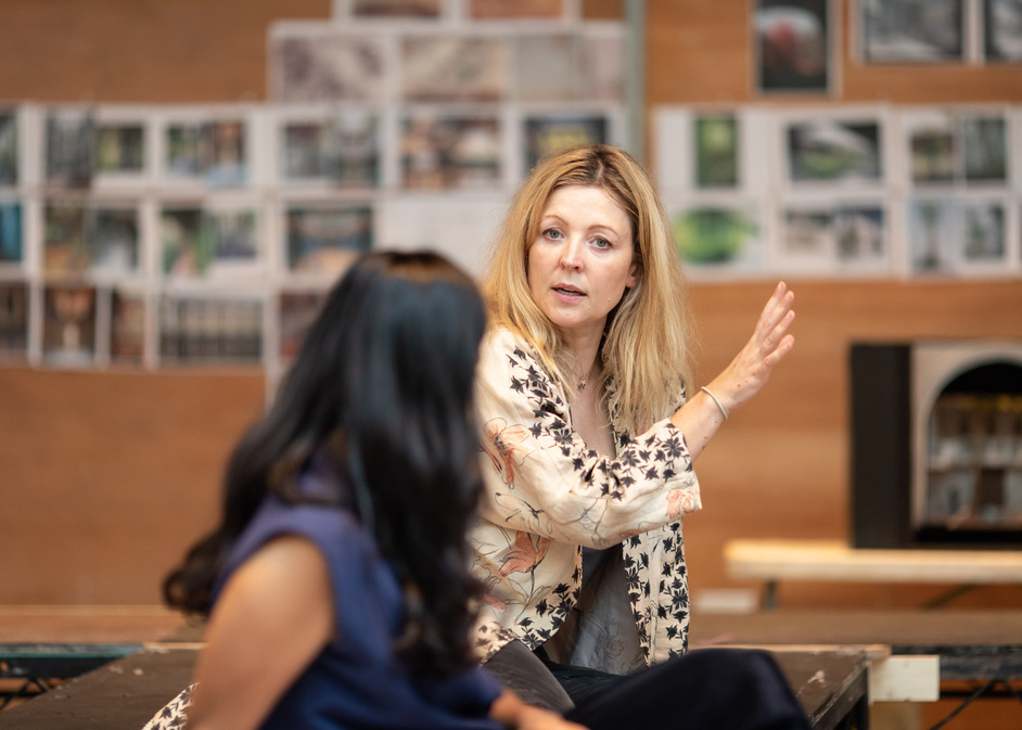 A Doll's House - Rachel O'Riordan in rehearsals for A Doll's House, photo: Helen Maybanks