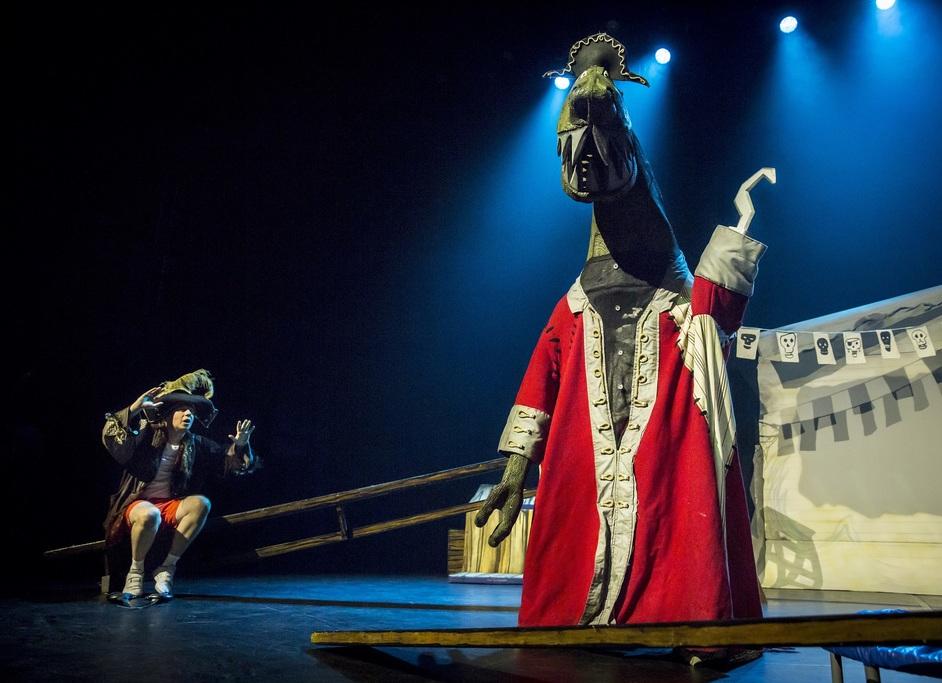 Captain Flinn and the Pirate Dinosaurs: The Magic Cutlass - Captain Flinn and the Pirate Dinosaurs: The Magic Cutlass - photo courtesy of Gail Harland