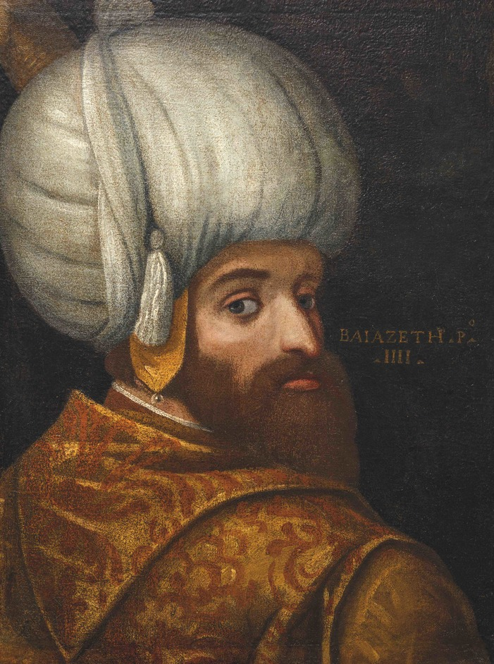Inspired By The East: How The Islamic World Influenced Western Art - School of Veronese (1528?1588), A Portrait of Sultan Bayezid I. Oil on canvas, c. 1580. © Islamic Arts Museum Malaysia