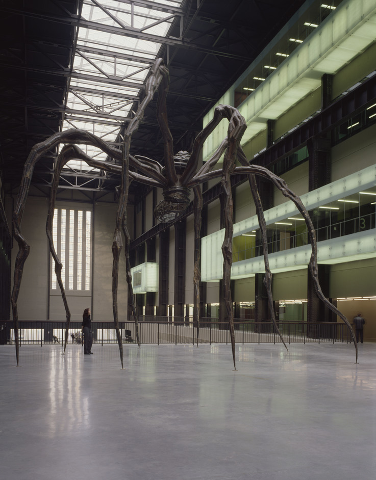 Tate Modern Turns 20 - Louise Bourgeois, Maman 1999, Tate. Presented by the artist 2008 © The Easton Foundation