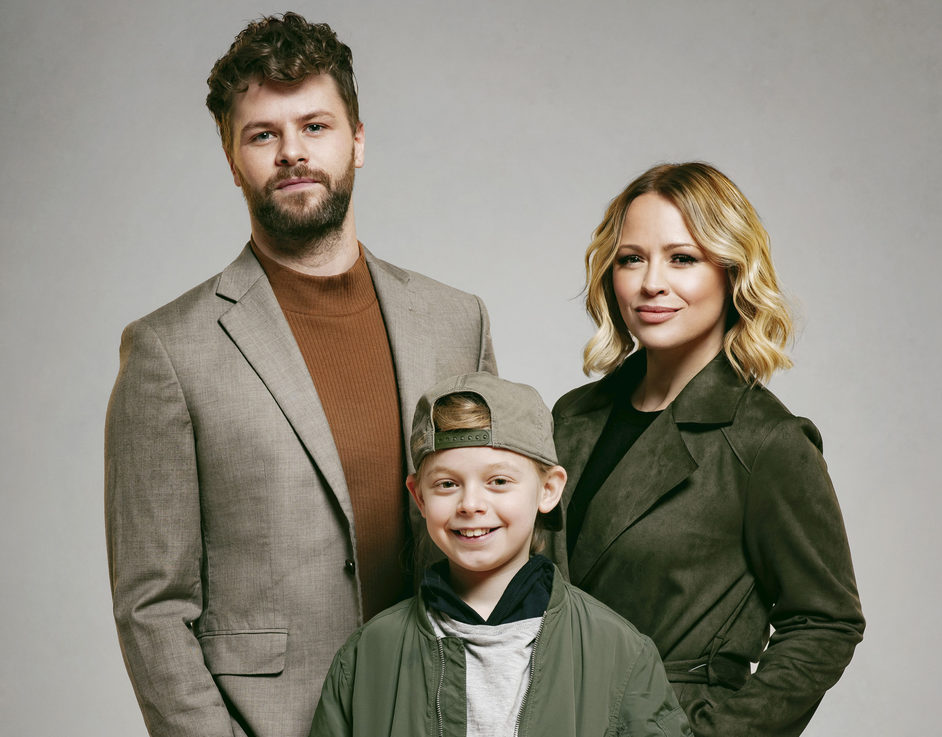 Sleepless: A Musical Romance - Jay McGuiness, Kimberley Walsh and Theo Collis, photo: Matt Crockett