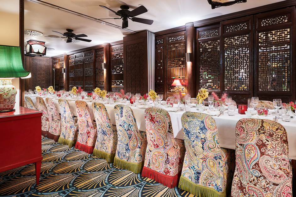 China Tang at The Dorchester - Private Dining Room