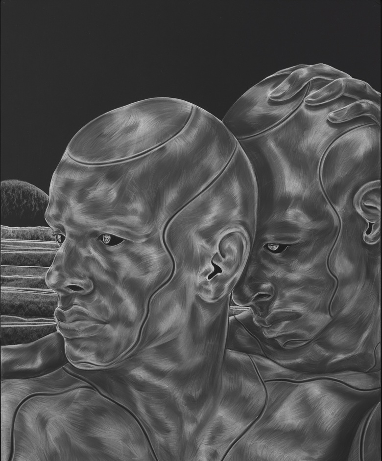 Toyin Ojih Odutola: A Countervailing Theory - Toyin Ojih Odutola Semblance of Certainty from A Countervailing Theory (2019) © Toyin Ojih Odutola. Courtesy of the artist and Jack Shainman Gallery, New York