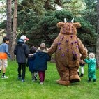 The Gruffalo at Kew Gardens