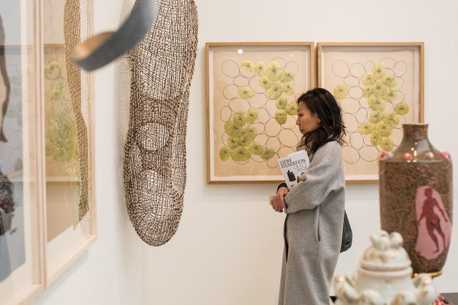 International Art Fair for Modern Craft & Design: Collect 2020 - Collect 2019, photo by Sophie Mutevelian