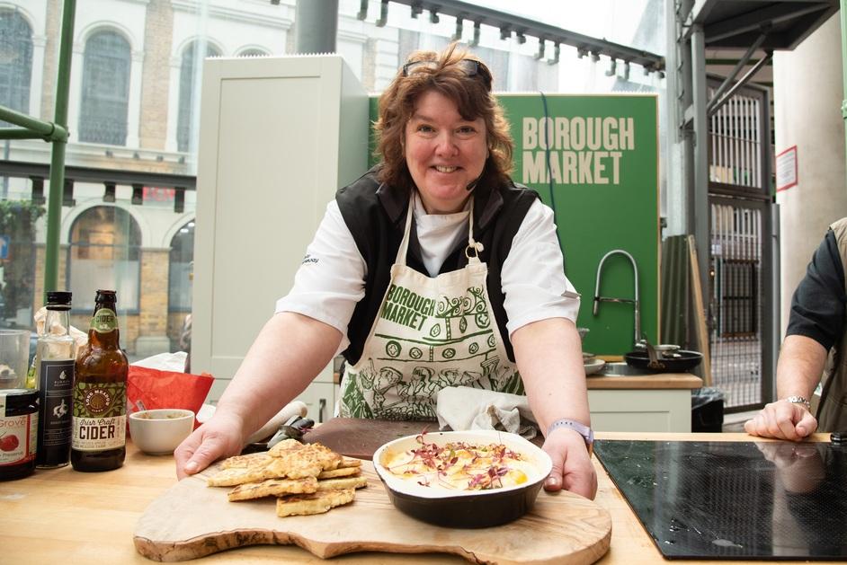 St Patrick's Day Celebrations at Borough Market - Paula McIntyre, Northern Ireland celebrity chef