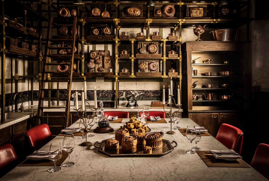 Rosewood London - The Pie Room, Holborn Dining Room, Private Dining Room. Photo ©John Carey