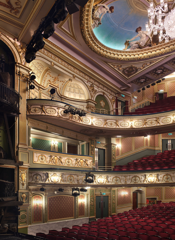 Sondheim Theatre - The Sondheim Theatre, London, auditorium, photo: Philip Vile