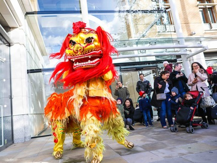 Chinese New Year at Duke of York Square