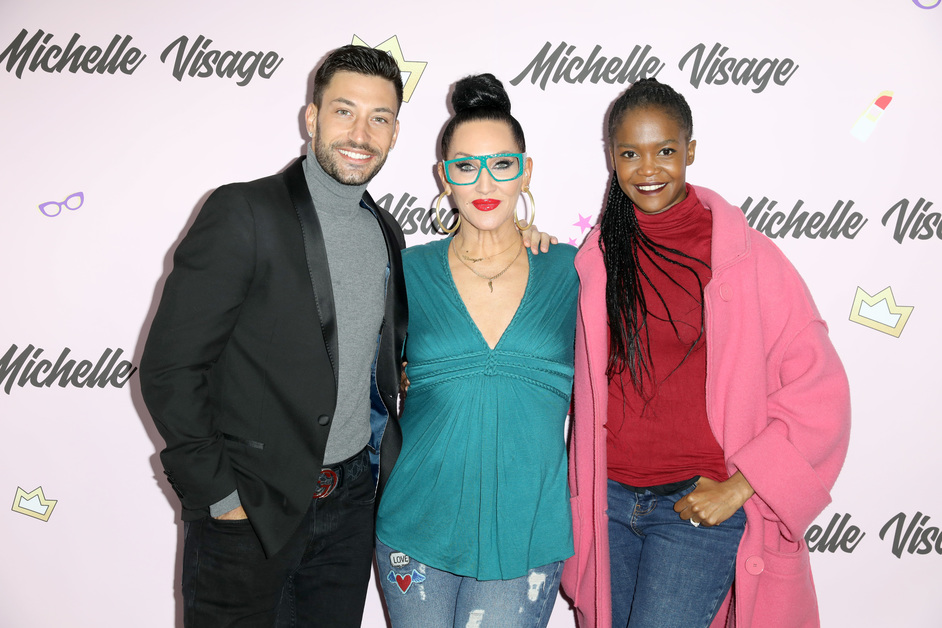 RuPaul's DragCon UK - RuPaul's DragCon - Giovanni Pernice, Michelle Visage and Oti Mabuse
