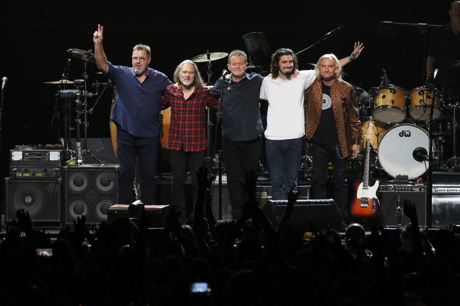 Eagles: Hotel California Tour - Eagles. Photo: Ron Koch