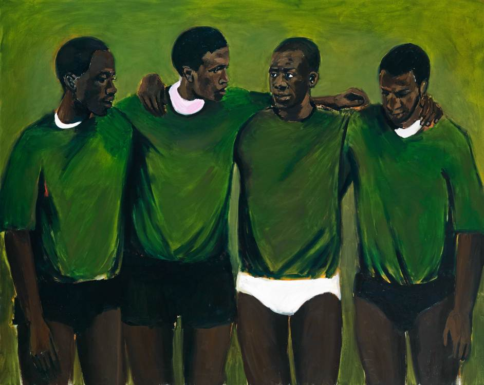 Lynette Yiadom-Boakye - Lynette Yiadom-Boakye Complication 2013 Pinault Collection © Courtesy of Lynette Yiadom-Boakye