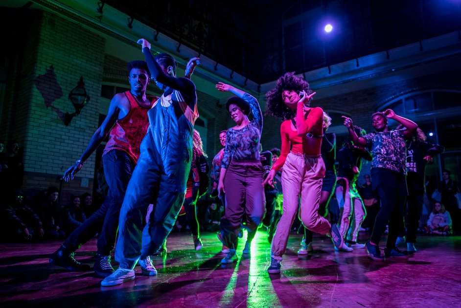 When It Breaks It Burns - When it Breaks it Burns by coletivA ocupacao, Battersea Arts Centre © JMA Photography