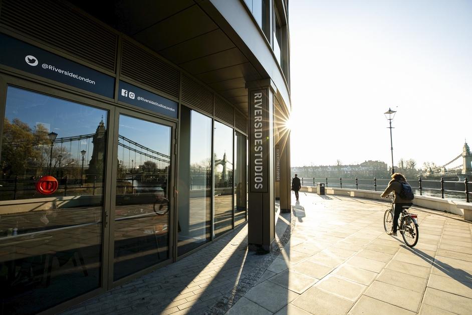 Riverside Studios - Riverside Studios Main Entrance - photo: Victor Frankowski