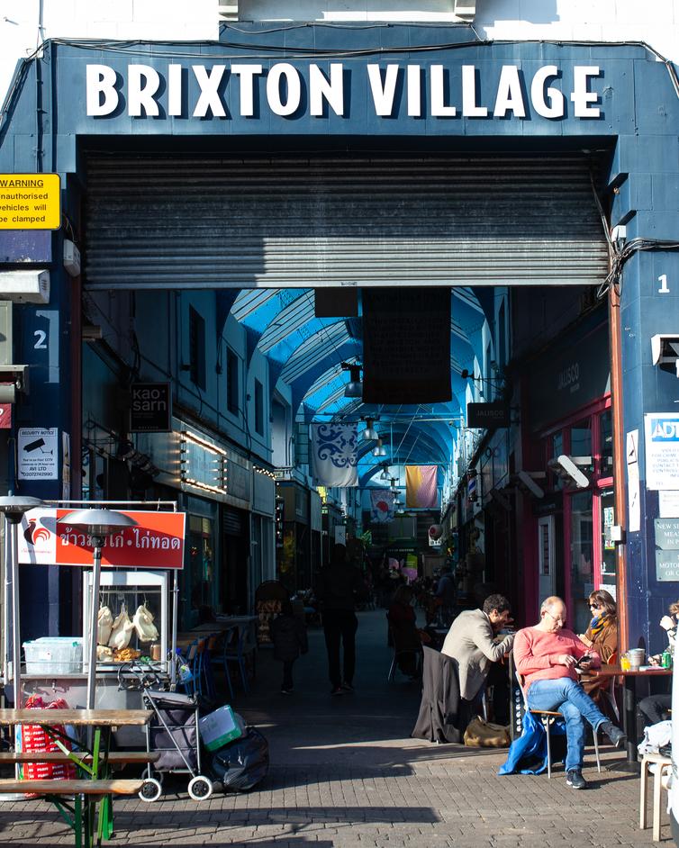 Brixton Village - photo courtesy of Taproom at Brixton Village