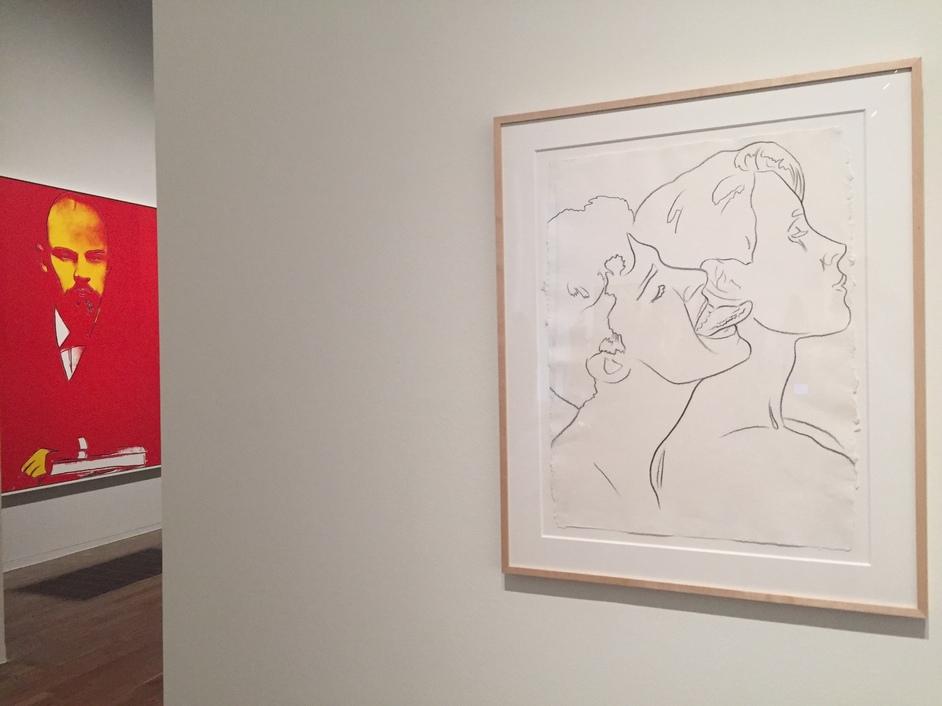 Andy Warhol - installation image at Tate Modern, 2020