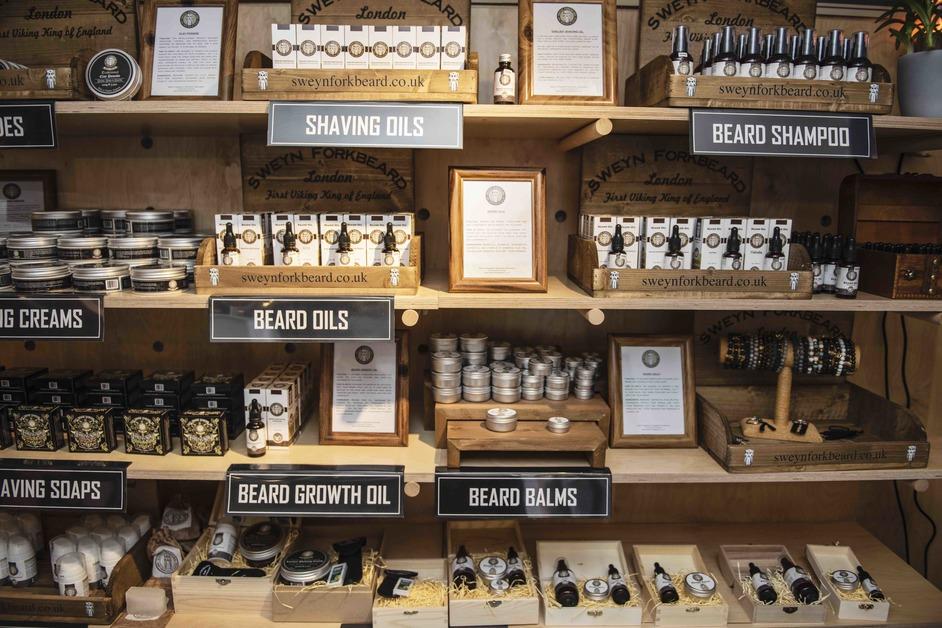Buck Street Market - Male grooming brand Sweyn Forkbeard