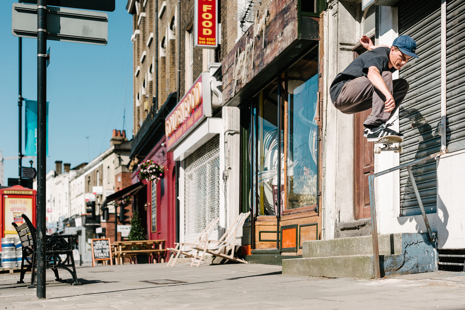 No Comply: Skate Culture and the Community - Kevin Lowry, London, 2012 © Sam Ashley
