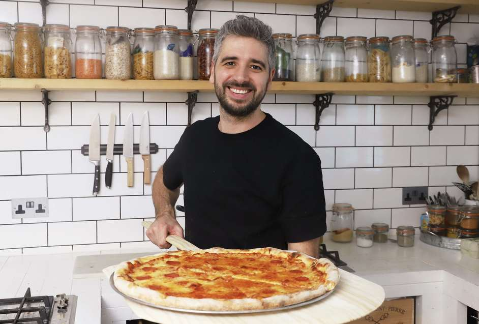 Buck Street Market - Miguel Barclay, famous for his One Pound Meals, is behind New York style pizzeria Miguel's Pizza