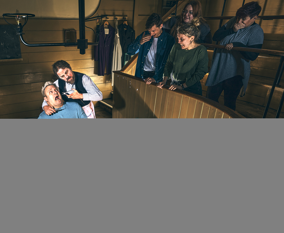 Easter at the London Dungeon: The Backstreet Dentist