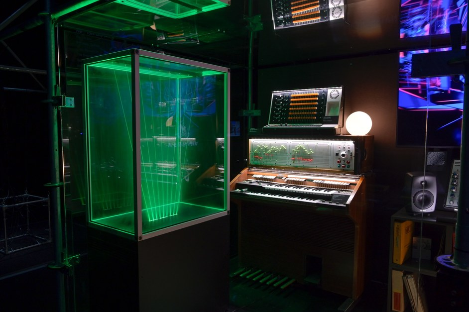 Electronic: From Kraftwerk to The Chemical Brothers - Jean Michel Jarr's virtual studio. Photo: Gil Lefauconnier