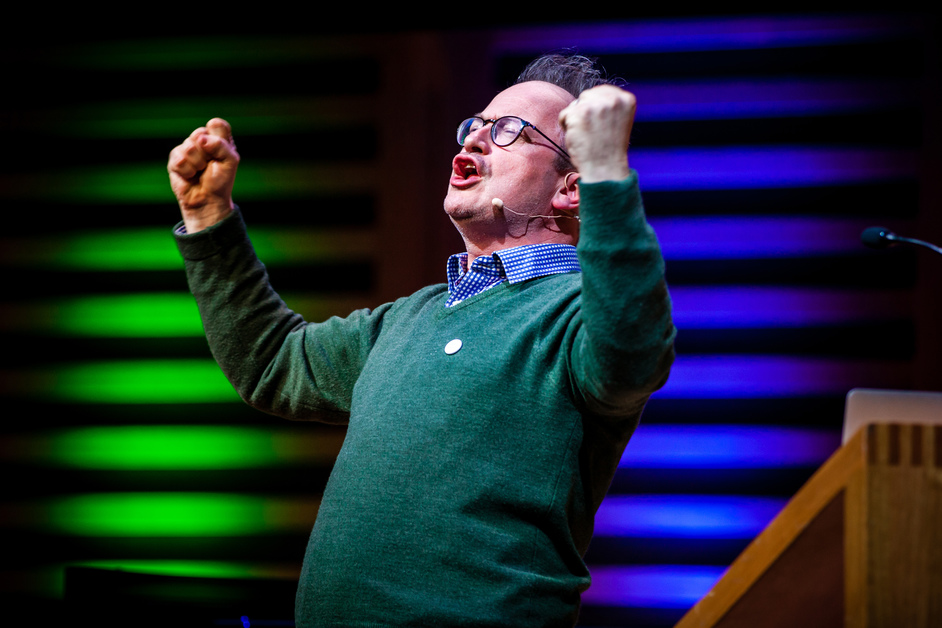 The Stay At Home Festival - Robin Ince, Nine Lessons and Carols for Curious People, photo: Natalie Shaw